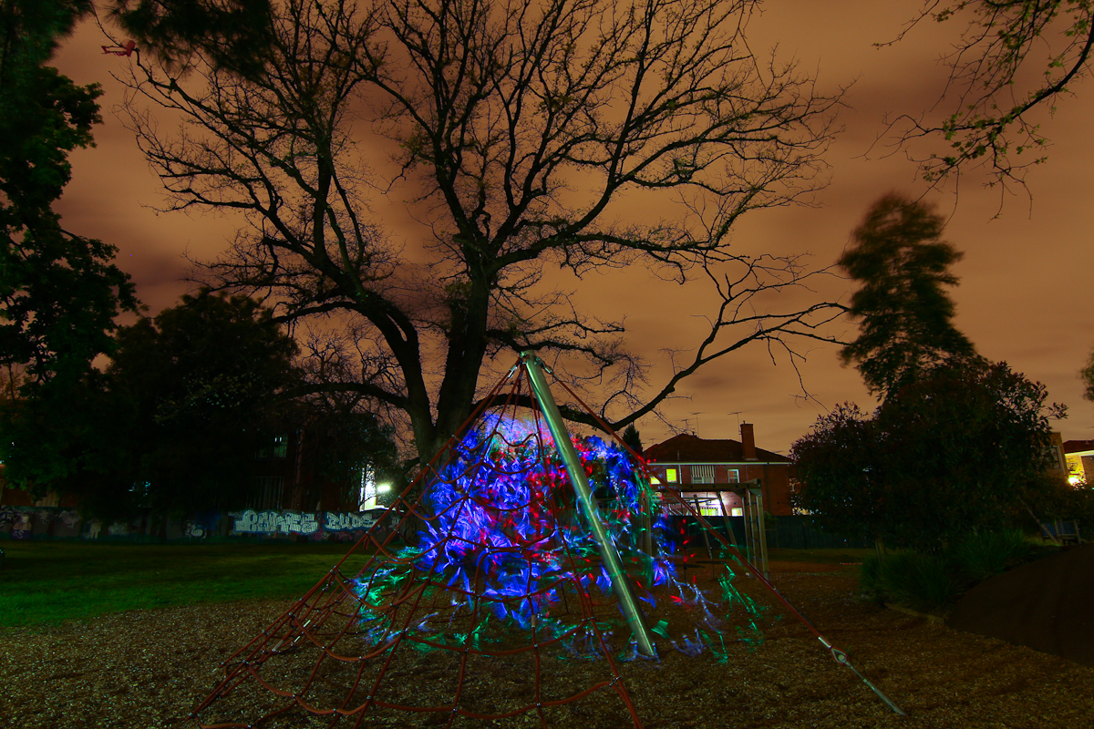 Lightpainting Alma park