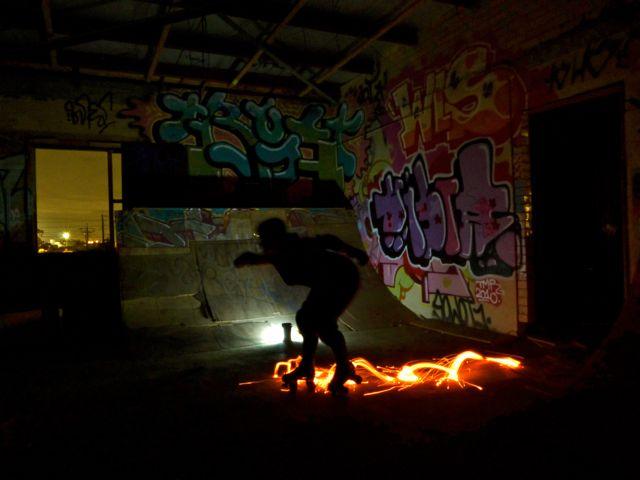 Skates on Fire