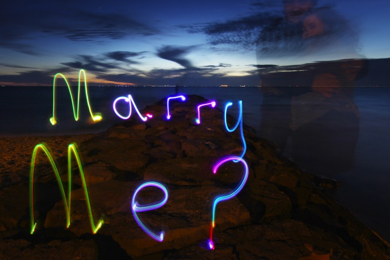 Lightpainting proposal - Partners in Light