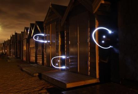 Lightpainting Partners in Light