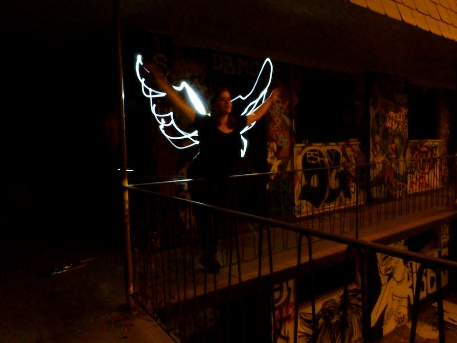 Flightless Lightpainting