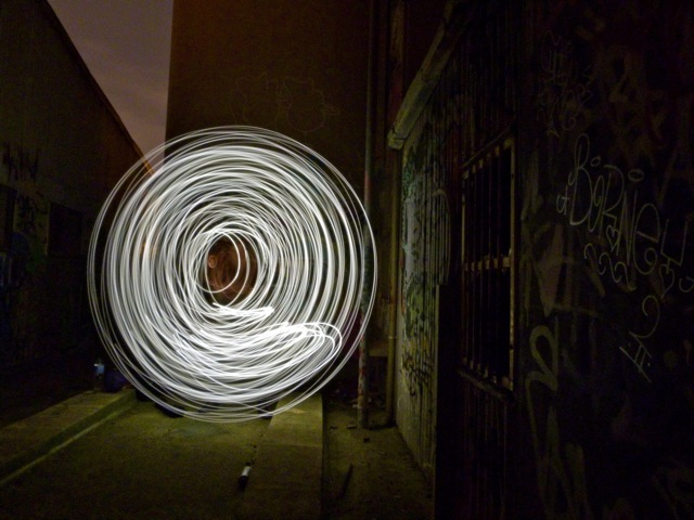 Lightpainting Mill