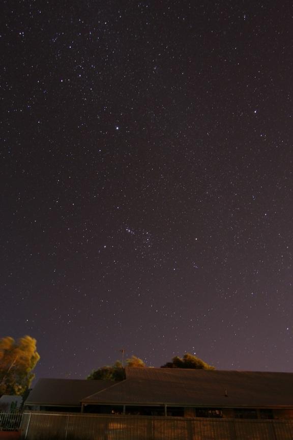 Stars over Alice