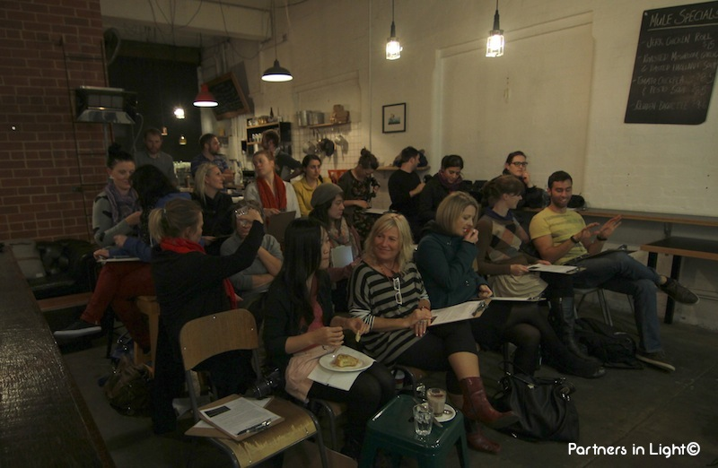 Partners in Light -Laneway learning class