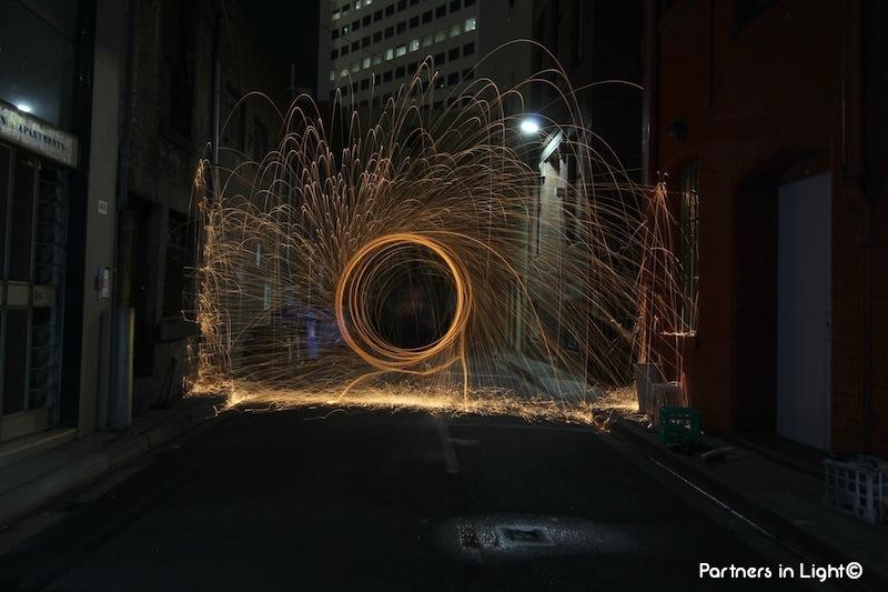 Partners in Light - Laneway spark II